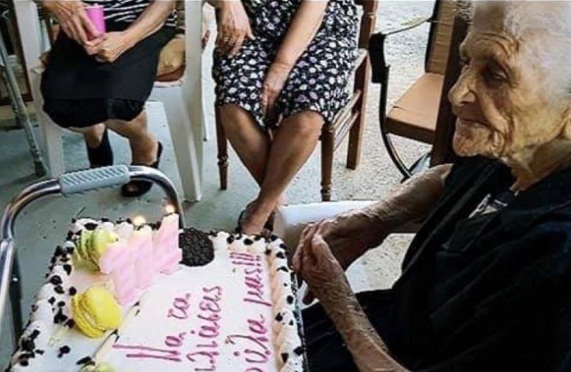 Γιαγιά 114 ετών από τα Κρέστενα Ηλείας έτοιμη για το ρεκόρ Γκίνες