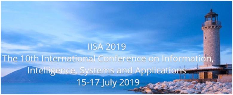 """10ο Διεθνές Συνέδριο """"Information,  Intelligence, Systems and Applications"""" στην Πάτρα 15-17 Ιουλίου"""