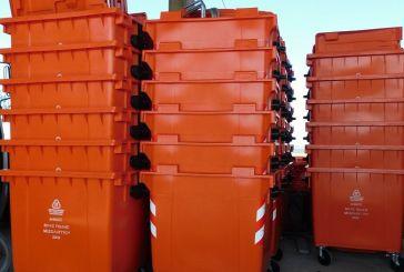 324 νέοι κάδοι απορριμμάτων στο Δήμο Ιεράς Πόλεως Μεσολογγίου
