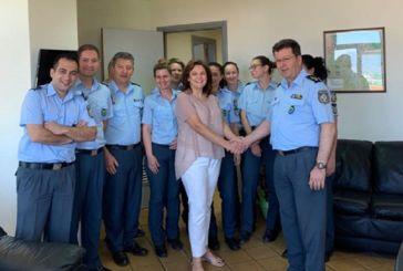 """Κατερίνα Κιτσάκη: """"Στηρίζουμε το έργο της τοπικής Αστυνομίας"""""""