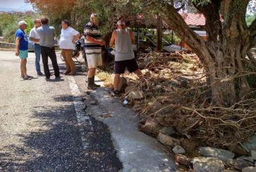 Περιόδευσε στις πληγείσες περιοχές της Ναυπακτίας το κλιμάκιο του ΚΚΕ (φωτο)