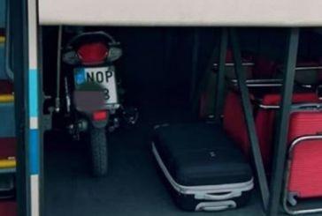 Ανετος: Μετέφερε το μηχανάκι του με το ΚΤΕΛ