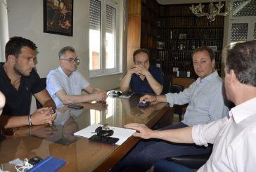 Επίσκεψη Σπήλιου Λιβανού στο Δικαστικό Μέγαρο Μεσολογγίου