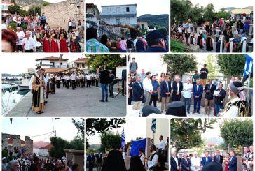 Μεσολόγγι: Τίμησε τον Κάλαμο Λευκάδας για την προσφορά του στον εθνικοαπελευθερωτικό αγώνα (φωτο & video)