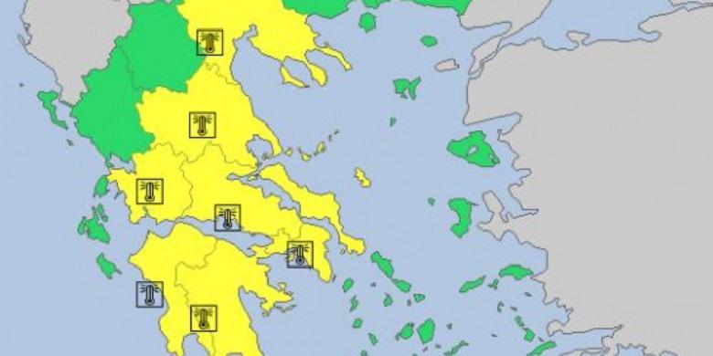 «Ποδαρικό» με καύσωνα θα κάνει ο Αύγουστος -Πού αναμένονται 40άρια και… βάλε (χάρτης)