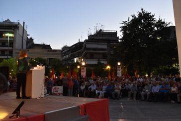 """Ελένη Μπέλλου στο Αγρίνιο: """"Το ΚΚΕ θέλει μία κυβέρνηση που θα παίρνει αποφάσεις για τις ανάγκες των πολλών"""" (φωτο)"""