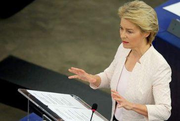 Νέα πρόεδρος της Κομισιόν η Ούρσουλα φον ντερ Λάιεν – Εξελέγη με 383 ψήφους