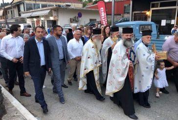 Στους Αγίους Αποστόλους Αγγελοκάστρου ο Θανάσης Παπαθανάσης