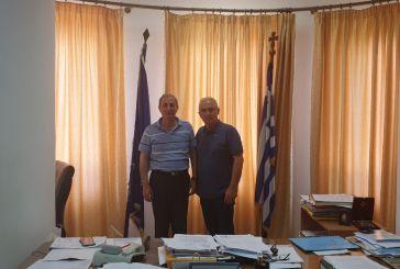 Ο Σάκης Τορουνίδης σε Μακρυνεία,  Αράκυνθο και Θέρμο