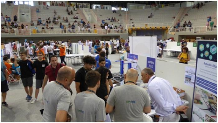 Tο project «έξυπνη αποκομιδή απορριμμάτων» παρουσίασε το 2ο ΕΠΑΛ Αγρινίου στην Ολυμπιάδα Εκπαιδευτικής Ρομποτικής