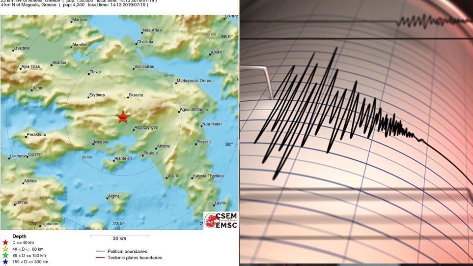 Λέκκας για σεισμό στην Αθήνα: 5,3 η δόνηση- 5 χιλιόμετρα το εστιακό βάρος