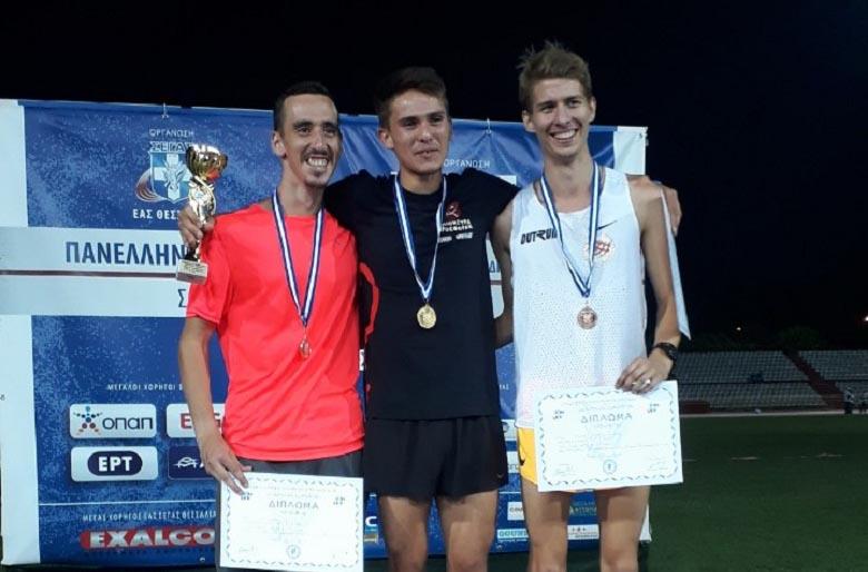 Νέο ατομικό ρεκόρ στα 5000 μ. από τον πρωταθλητή της ΓΕΑ Κώστα Σταμούλη