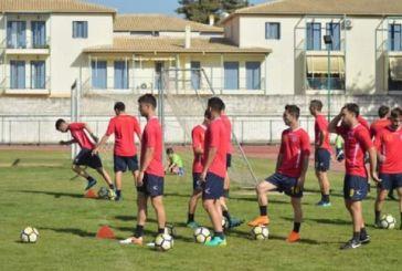 Έξι ποδοσφαιριστές του Παναιτωλικού στον Τηλυκράτη Λευκάδας