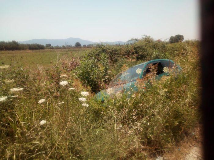 Αυτοκίνητο έπεσε σε αρδευτικό αύλακα στο Δοκίμι