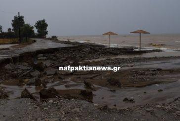 Μεγάλες ζημιές στη Ναυπακτία-κινδύνεψαν άνθρωποι