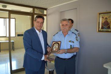 Κοτρωνιάς παρέδωσε σε Σπανουδάκη τη σκυτάλη του  Αστυνομικού Διευθυντή  Δυτικής Ελλάδας