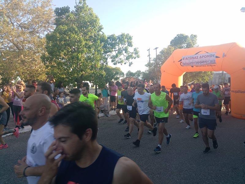 Μεγάλη συμμετοχή στον 4ο Αγώνα Δρόμου στην Παπαδάτου Ξηρομέρου (φωτο)