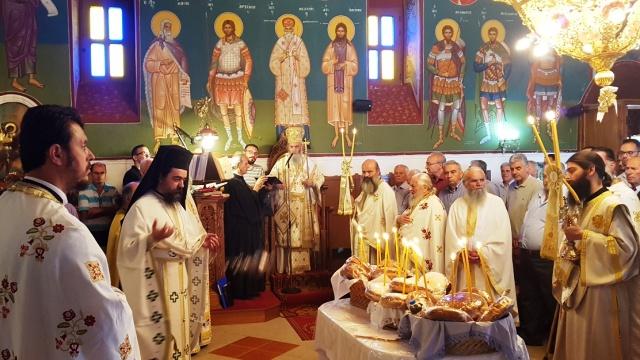 Η θερινή πανήγυρη του Αγίου Βλασίου Παρακαμπυλίων (φωτο)
