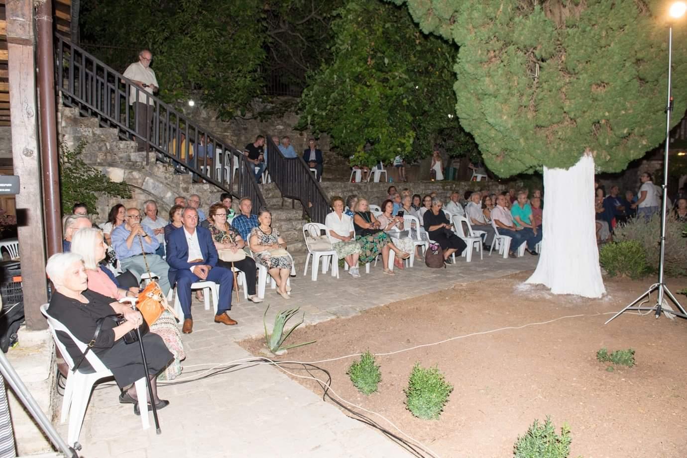 Εκδήλωση στην Ανάληψη Τριχωνίδας για τα Βυζαντινά Μνημεία  (φωτο)