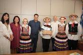 Υποδοχή στο Δημαρχείο Αγρινίου για τους ξένους χορευτές