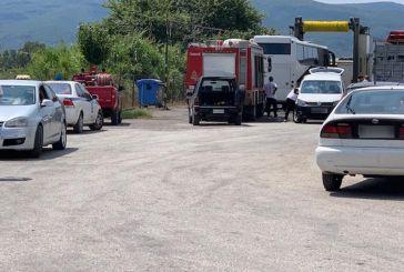 Αγρίνιο: σοκάρει ο τραγικός θάνατος άνδρα σε λεωφορείο – δύσκολη επιχείρηση απεγκλωβισμού της σορού (φωτο)