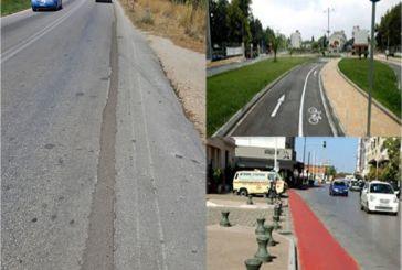 Αφού φρέσκια άσφαλτο έχει στο διάδρομο των έργων του ΟΤΕ…ας το κάνουμε ποδηλατόδρομο.