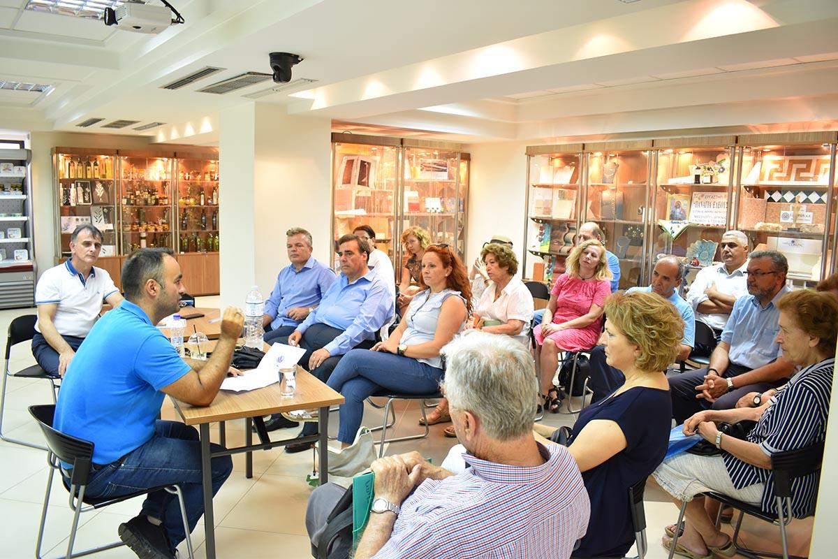 Εποικοδομητική συνάντηση στο Αγρίνιο για το Πανεπιστήμιο