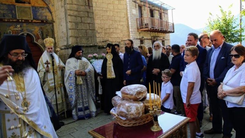Η Κοίμηση της Θεοτόκου στην Ιερά Μονή Αμπελακιώτισσας Ναυπακτίας