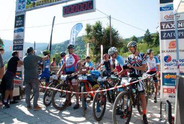 Άνω Χώρα Ναυπακτίας: Πρωταθλητές Marathon ορεινής ποδηλασίαςο Π. Ηλίας και η Κ. Ελευθεριάδου