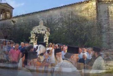 Μεγάλη Χώρα Αγρινίου: Πανηγυρίζει ο πρωτοχριστιανικός ναός της Κοιμήσεως της Θεοτόκου