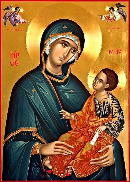 Ο εορτασμός της Παναγίας στον Ι.Ν.Αγίας Τριάδας Αγρινίου