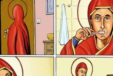 «Εκκλησία OnLine»: Μηνύει τα «Κουλουβάχατα Comics» για τη γελοιογραφία του Αγρινιώτη σκιτσογράφου