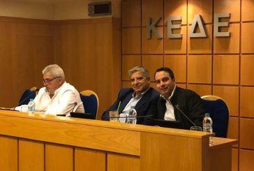 Θανάσης Παπαθανάσης: Ικανοποίηση για τη συναντίληψη μεταξύ του υπουργείου Εσωτερικών και της ΚΕΔΕ