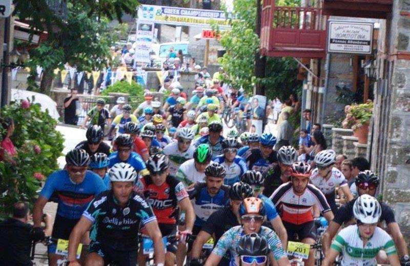 Στην Άνω Χώρα Ναυπακτίας το Πανελλήνιο Marathon ορεινής ποδηλασίας elite & master