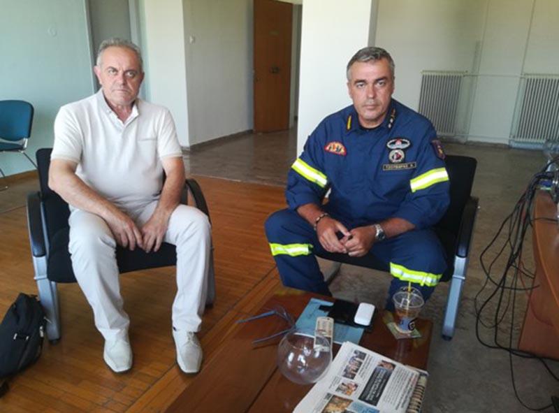 Σύσκεψη με αφορμή τα επόμενα κρίσιμα 24ωρα για την εκδήλωση πυρκαγιών στη Δυτική Ελλάδα