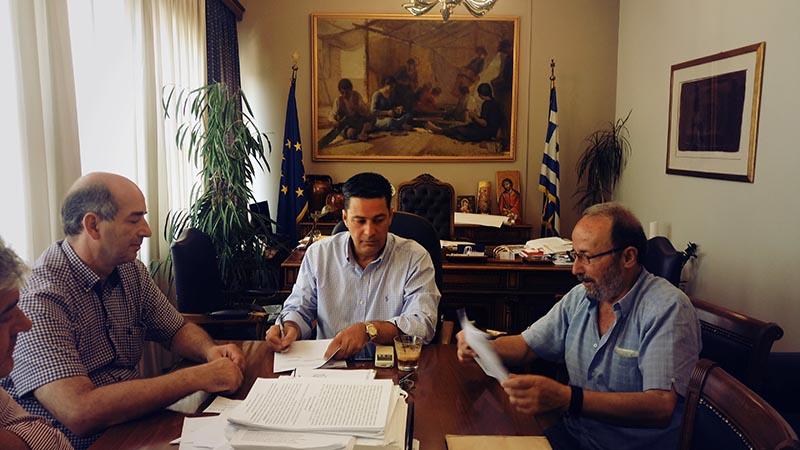 Σύμβαση για αναβάθμιση ηλεκτροφωτισμού σε  κοινότητες του Δήμου Αγρινίου