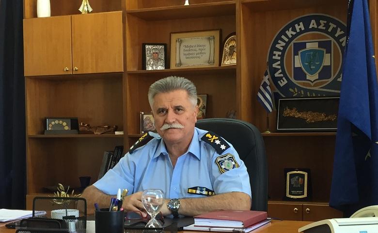 Η διαδρομή του  νέου Γενικού Περιφερειακού Αστυνομικού Διευθυντή  Δυτικής Ελλάδας