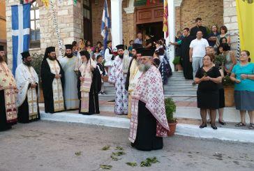 Η Πάλαιρος υποδέχθηκε το Ιερό Λείψανο του Αγίου Νεκταρίου (φωτο)