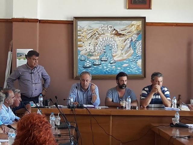 Ο Θόδωρος Στούπας πρόεδρος του Δημοτικού Συμβουλίου Ακτίου-Βόνιτσας