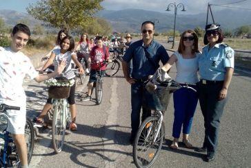 Ποδηλατική διαδρομή σε σημεία πολιτιστικού και περιβαλλοντικού ενδιαφέροντος από το Καλλιτεχνικό Γυμνάσιο Μεσολογγίου