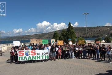 Πορεία για την κλιματική αλλαγή από τους μαθητές του ΓΕΛ Αμφιλοχίας (φωτο,βίντεο)