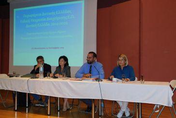 Συνάντηση εργασίας στο Μεσολόγγι για τα προτεινόμενα έργα της  Αιτωλοακαρνανίας