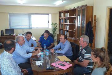 Κρίσιμα ζητήματα στην ατζέντα συνάντησης του Αντιπεριφερειάρχη Λ. Δημητρογιάννη με τον Δήμαρχο Μεσολογγίου