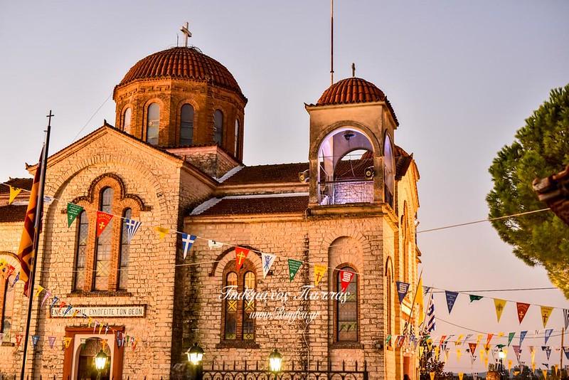 Κυψέλη Αγρινίου: Εορτασμός της μνήμης του Οσίου Γεωργίου εξ Αργυρουπόλεως του Πόντου