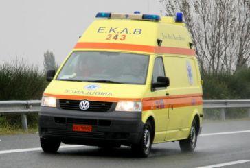 Αιτωλικό: τραυματισμός δικυκλιστή που σώθηκε χάρις στο κράνος