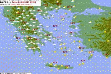 Έκτακτο δελτίο από ΕΜΥ: Επιδεινώνεται από το βράδυ ο καιρός στην Αιτωλοακαρνανία