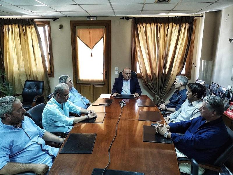 Συνεδρίασε η εκτελεστική επιτροπή του δήμου Ναυπακτίας υπό τον νέο δήμαρχο (φωτο, video)