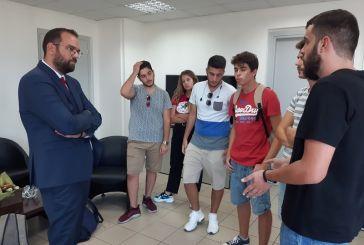 Συνάντησε  φοιτητές του Πανεπιστημίου Πατρών ο Νεκτάριος Φαρμάκης