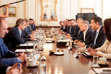 """Φαρμάκης για συνάντηση με Μητσοτάκη: """"Διαρκής και συστηματική συνεργασία για ένα καλύτερο αύριο"""""""