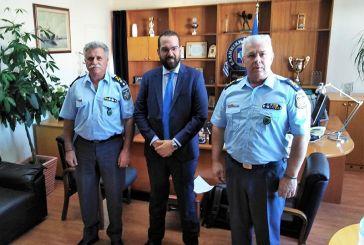 Ο Ν. Φαρμάκης στη Γενική Περιφερειακή Αστυνομική Διεύθυνση Δυτικής Ελλάδας